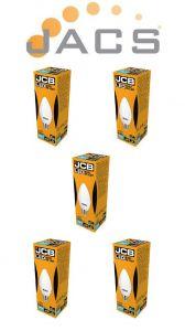 Jcb Led Candle 470lm OPAL E27(ES) 3000K, Pack Of 5