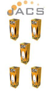 Jcb Led Candle 250lm OPAL E14(SES) 3000K, Pack Of 5