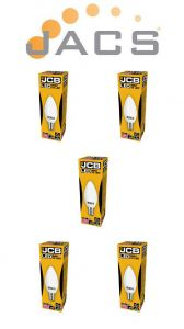 Jcb Led Candle 520lm OPAL E15(SBC) 65000K, Pack Of 5