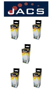 Energizer Led Candle 520lm 5.9w Opal B15 (SBC) Daylight, Pack Of 5