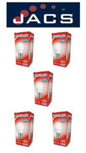 Eveready Led Golf 470LM Opal B15 (SBC)  Daylight, Pack Of 5