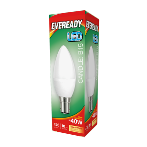 Eveready Led Candle 470LM Opal B15 (SBC) Warm White