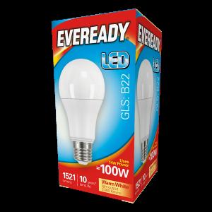 Eveready Led GLS 1521LM B22 (BC) Warm White