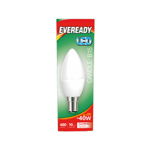 Eveready Led Candle 480LM Opal B15 (SBC) Warm White
