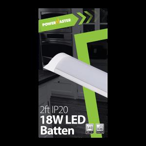Powermaster IP20 Led 2FT 60CM Batten