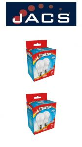 Eveready Led GLS 820LM B22 (BC) Daylight, PACK OF  4