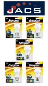 Energizer Led GLS 1521LM 12.5W B22 (BC) Warm White, Pack Of 5