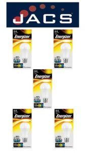 Energizer Led GLS 1521LM 12.5W OPAL B22 (BC) Daylight, Pack Of 5