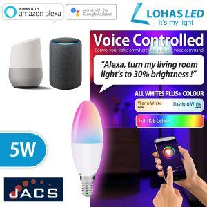 LOHAS Smart E14 Candle Bulb RGBW