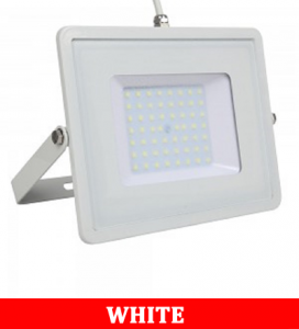 V-TAC-50 50W SMD Floodlight With Samsung Chip Colorcode:6400K WHITE BODY