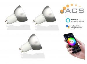 Smart GU10 Wifi Bulb (3 PACK)